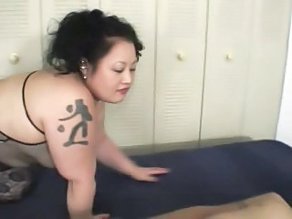 Sexy Big Chubby Japan BBW Fucks A Little Guy