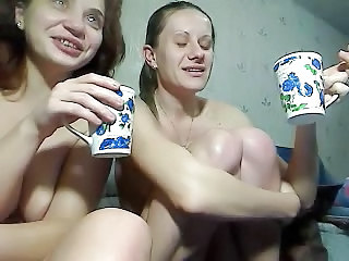 Two Crazy Girls Fisting And Squirting On Cam
