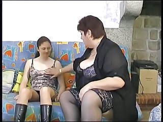 BBW Old And Young French Bbw Mature Bbw Mom Casting Mom