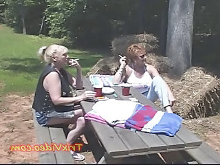 Farm Smoking Outdoor Amateur Farm Outdoor