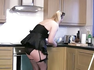 Kitchen Wife Chubby