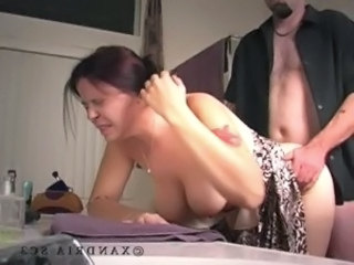 Mature painfull anal