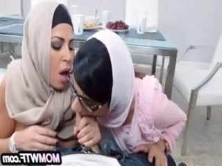 Arab mom and daughter share cock Julianna Vega, Mia Khalifa 22 82 free