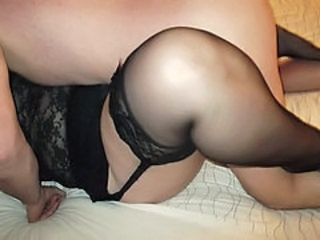 Stockings Homemade Wife