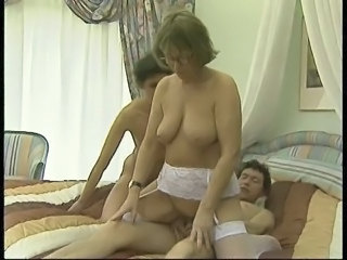 Family Threesome Old And Young Big Tits Big Tits Mom Big Tits Riding
