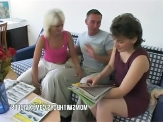 Threesome Mature Mom Anal Mature Anal Mom Mature Anal