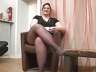 Stockings Casting Amateur