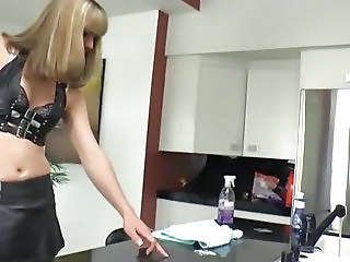 Shemale Boss Franchezka Fucking Cleaning Lady Nickey Huntsman