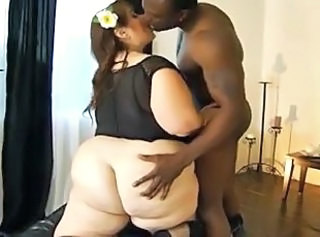Ass SSBBW Interracial
