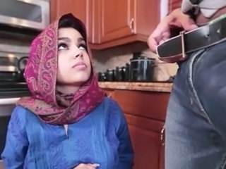 Kitchen Arab Babe Arab  Bus + Teen