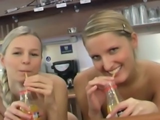 Video from: tnaflix | Seductive blonde lesbian teen angels fucking their petite shaved pussies with...
