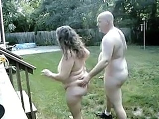 Older Outdoor BBW