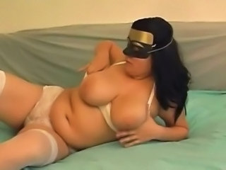 masked amateur couple