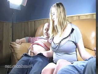 Family Daddy Threesome