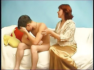 Mom Redhead Old And Young Amateur Amateur Mature Mature Young Boy