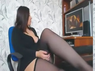 Legs Masturbating Stockings