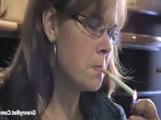Smoking Fetish Glasses Glasses Mature Mature Ass