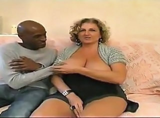 French Chubby Interracial