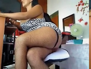 Legs Fishnet Webcam