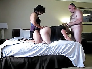 Chubby Double Penetration Threesome