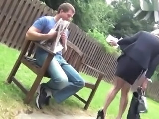 uk tranny creampied on park bench
