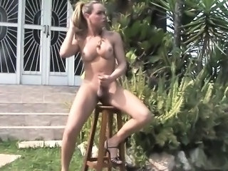 Masturbating Outdoor Latina