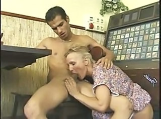 German Mom Old And Young Blowjob Mature European German