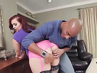 Fat Bitch Loves Black Cock
