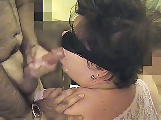 BBW Gangbang Mouth Fuck and Cumshot