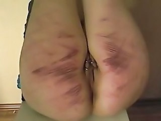 Extreme caning session