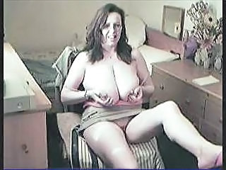 Nerdy Webcam Wife With Gigantic...