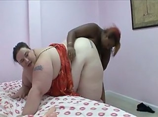 SSBBW Ebony Interracial