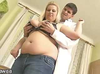 Young doctor bangs a chubby patient _: big natural tits