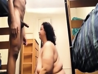 Interasial BBW Facut in casa