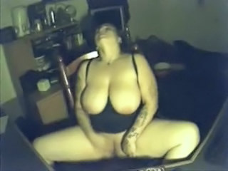 BBW Big Tits HiddenCam