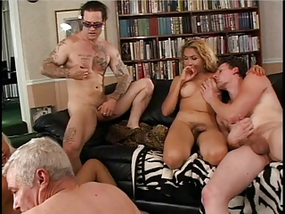 Old And Young Orgy Groupsex