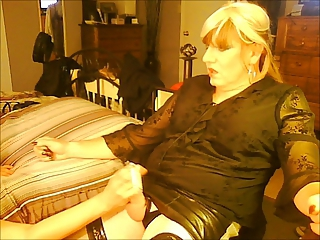 Older Mature Handjob