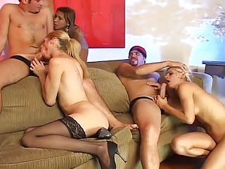 Hot shemale group fuck