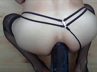 Dildo Toy Masturbating