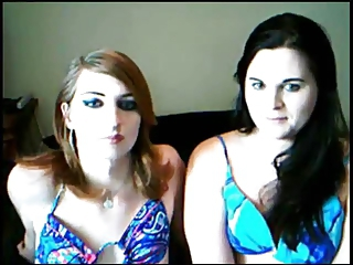 two shemales on cam
