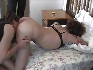 Homemade crossdressers blowjob fucking joy