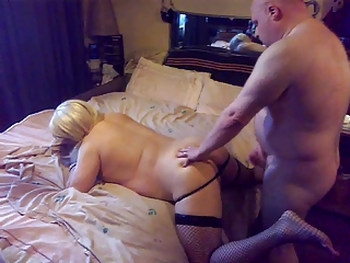 Hot Tranny Donna Marie Fucked In Her Ass Hard.