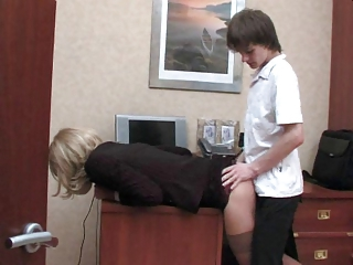 Office Doggystyle Anal