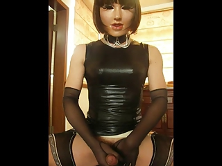 Release my CB6000 for you in PVC dress