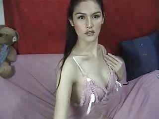 Asian ladyboy webcam hottie.