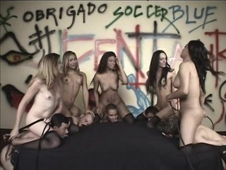Transsexual orgy - Part 1