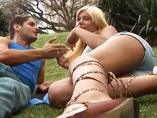 Interracial Outdoor Latina