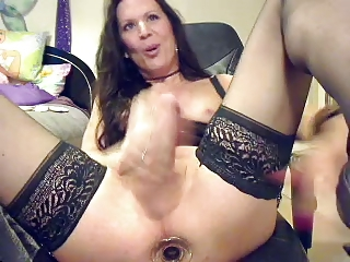 Mature Masturbating Solo