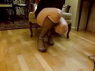 My Legs and Feet II STockings and Heels