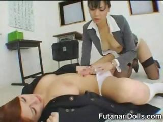 Cute Office Asian